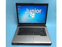 Toshiba Fast Laptop, 3GB Ram 160GB, Win 7, Webcam, DVD RW, office,Excellent Condition