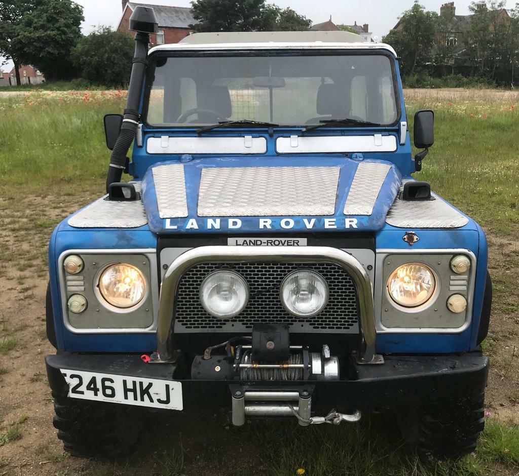 LAND ROVER DEFENDER 90 TRUCK CAB ENGINE SWAPS PX CASH TRY ME | in Hunslet,  West Yorkshire | Gumtree