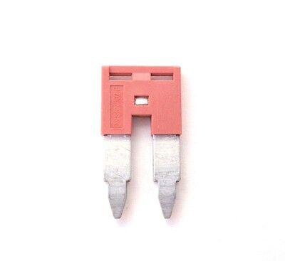 Din Rail Terminal Block Jumpers 12 Quantity Dss6n-02p Dinkle 8 Awg 2 Pole Dk6n