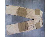 Dunlop Safety Trousers, as new, W34/L32/L