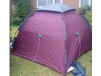 Khyam highlander 3tent. Bikers tent.