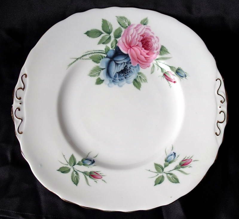 IMPERIAL FINE ENGLISH CHINA # 637 CAKE PLATE, England