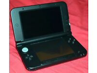 Nintendo 3DS XL, Red, in excellent condition, boxed