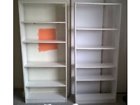 Book cases, CD storage units