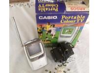 Casio UHF 2.3 in television.