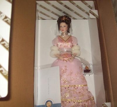 FM FABERGE Princess Sofia Debutante Porcelain Doll NIB for sale  Bellville