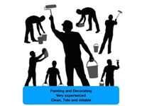 Painter and Decorater Reasonably priced, Reliable and fully insured.