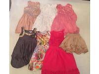Girls 6 years old various dresses x 6