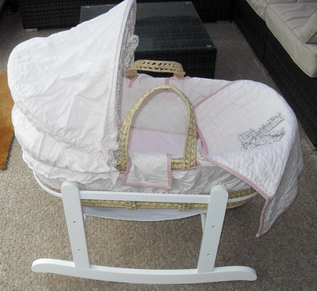 Mama & Papas Moses Basket and Stand