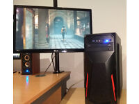 VR Ready Gaming PC i7-4770 8x 3.4GHz (up to 3.9) 16GB RAM GeForce GTX 1060 SSD+HDD DVDRW Win10 MINT!
