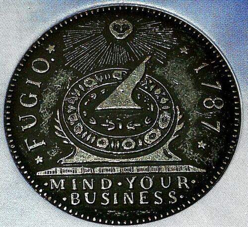 1787 NOVELTY BENJAMIN FRANKLIN FUGIO CENT- AMERICA