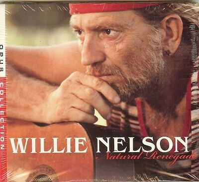 WILLIE NELSON - Natural Renegade (Best Of / Greatest Hits) 16 SONGS - CD - (Willie Nelson Best Hits)