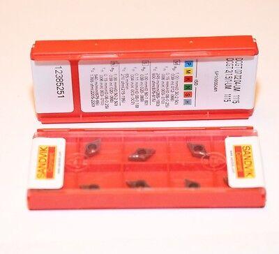 Dcgt 21.51 Um 1115 Sandvik 10 Inserts Factory Pack