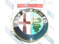 60681590 Genuine Alfa Romeo Gt Chrome Effect Grille//Bonnet Badge