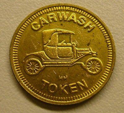 Car Wash Token No Cash Value HH
