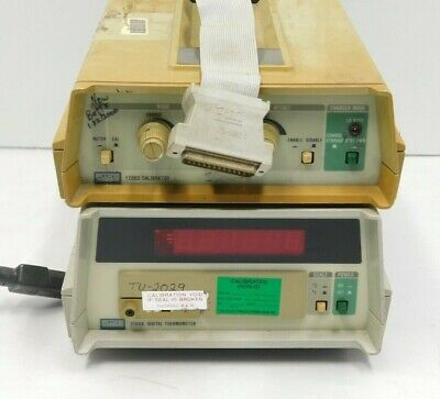 Fluke Y2003 Thermocouple Calibrator 2190a Digital Thermometer E5-1572