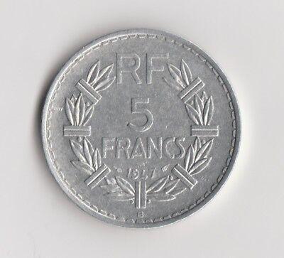 """5 Francs  Frankreich   1947   """"B""""  (1679)"""