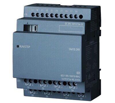 Siemens Logo Dm16 24r Digital Inputoutput 6ed1 055-1nb10-0ba2