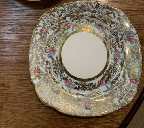 Colclough - Blue Deco  Sweets Plates