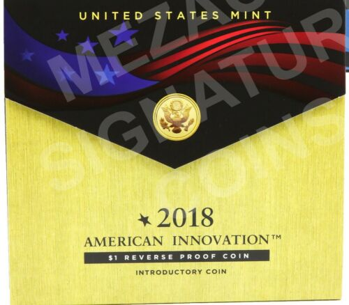 2018 American Innovation Introductory  $1 Reverse Proof Coin