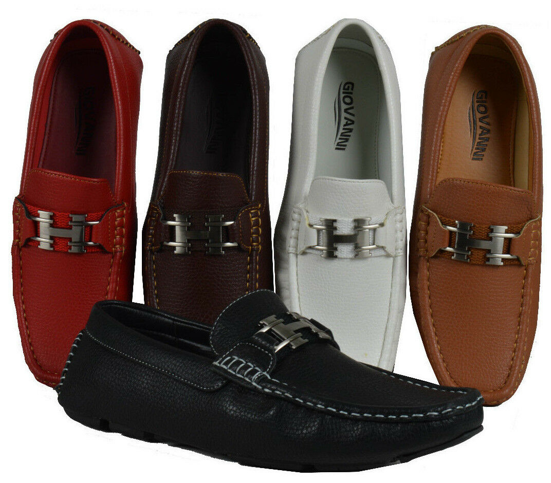Men's Loafers Giovanni Dress Shoes Moccasin Wedding  Formal