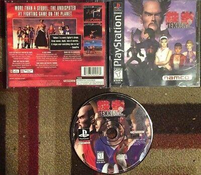 Tekken 2 Complete (Sony PlayStation 1, 1996) VG Shape & Tested