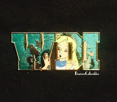 Walt Disney Imagineering Letters Alice in Wonderland Alice WDI Pin 80274 LE300