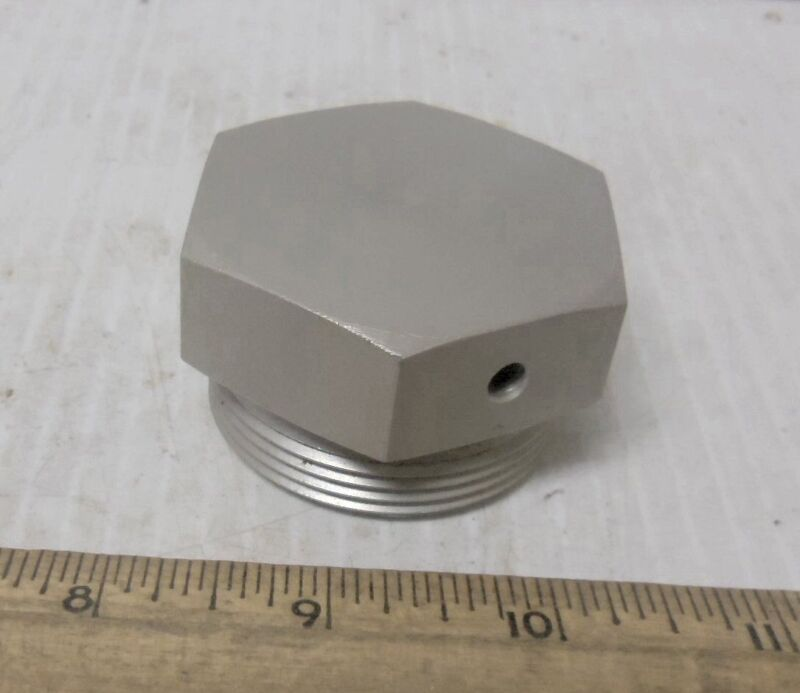 Threaded Hex Head Aluminum Cap or Plug or (?) (NOS)