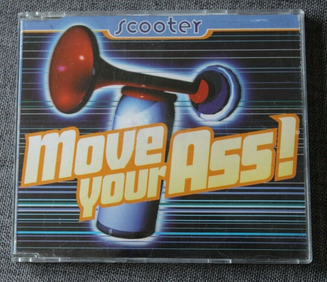 Scooter, move your ass !, maxi cd