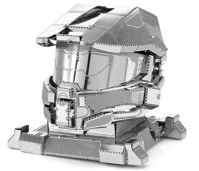 HALO Master Chief Helmet Metal Earth 3D Laser Cut Metal Model Fascinations