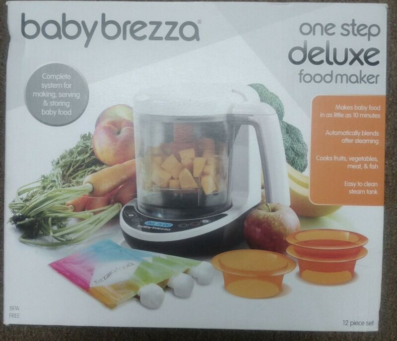 "Baby Breeza One Step Deluxe Food Maker ""Brand New"""