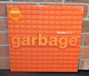 GARBAGE- Version 2.0, Limited 20th Anni 2LP ORANGE VINYL +Download Gatefold NEW!