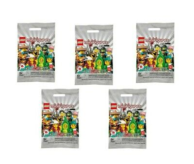 ✔ Sealed 5X LEGO Series 20 Minifigures Lot Of 5 # 71027 Blind Bags
