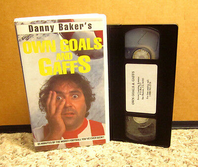 Danny Baker Futbol Own Goals   Gaffs Vhs Soccer Uk Comedy Bbc Football Highlight