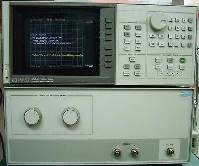 Agilent 8504a Opt 012 Precision Reflectometer