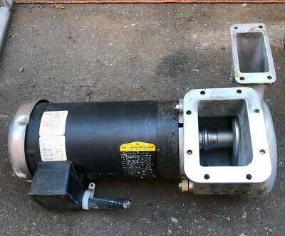 Electric Water Pump 3 Hp Baldor