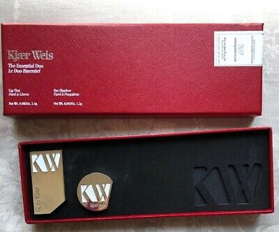 Kjaer Weis The Essential Duo No 2 NEW OTHER---Eye Shadow AND Lip Tint RRP £75.00