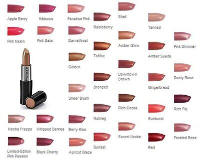 MARY KAY CREME LIPSTICK, NEW IN BLACK BOX, PICK YOURS FROM 40+ POPULAR COLORS!! Mary Kay Lipstick Colors