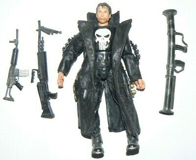 "ToyBiz Marvel Legends 6"" Series VI The Punisher Movie Thomas Jane Action Figure"