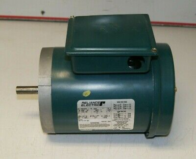 Reliance 34 Hp Green Electric Motor P56h1337h 3-ph 1725 Rpm 460v 60 Hz