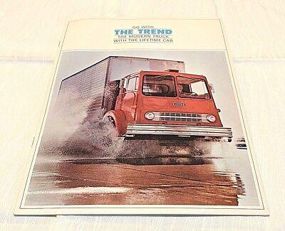 Vintage White Trend Trucks Sales Brochure