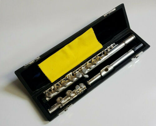 Chase Flute - Silver Nickel in C with Hard Case - Beginner Student Outfit -- 65