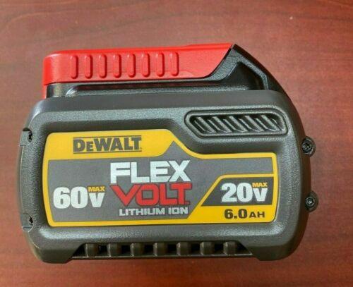 New DEWALT DCB606 20V/60V MAX FLEXVOLT 6.0 Ah Battery (Open Box)