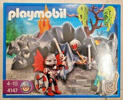 New Playmobil 4147 - Dragon Knights Rock Set
