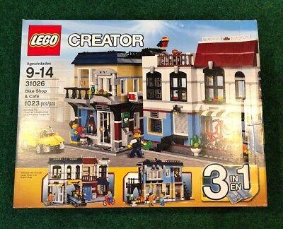 Lego Creator Bike Shop And Cafe 31026 Brand New