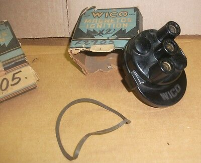New Vintage Wico Magneto Distributor Cap Cover X2705 2 Cylinder