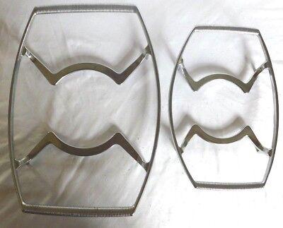 2 Corning Ware Cradles P-10-M-1 & P-11-M-1 Casserole Trivet Stand Racks