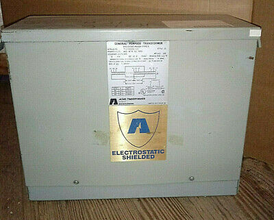 1 New Acme T-2-53329-1s Dry Type Distribution Transformer 6 Kva Nnb