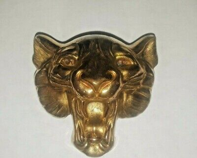 1940's Lion Dress Clip Brass. Great Definition ](Costumes Definition)