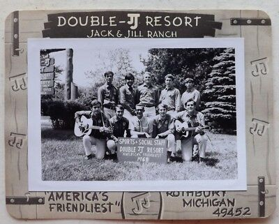 VINTAGE 1969 JACK & JILL RANCH PHOTO ROTHBURY MICHIGAN SPORTS & SOCIAL STAFF PIC